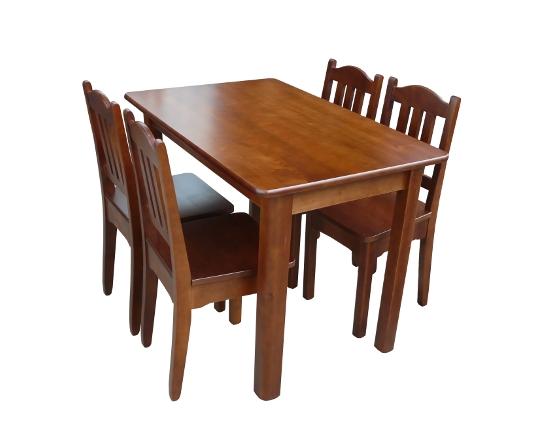 Zestaw Max3 Drewniany Stół Kuchenny 110x70cm Do Kuchni